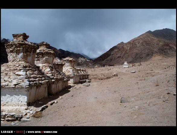 Likir Monastery... A Distant View...