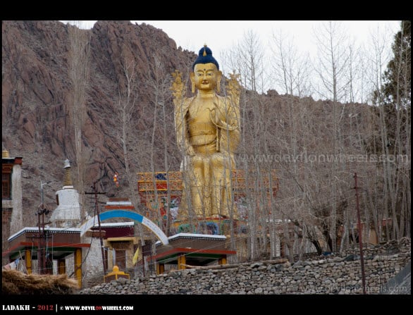Gold Covered 25 Feet High Lord Buddha Statue...
