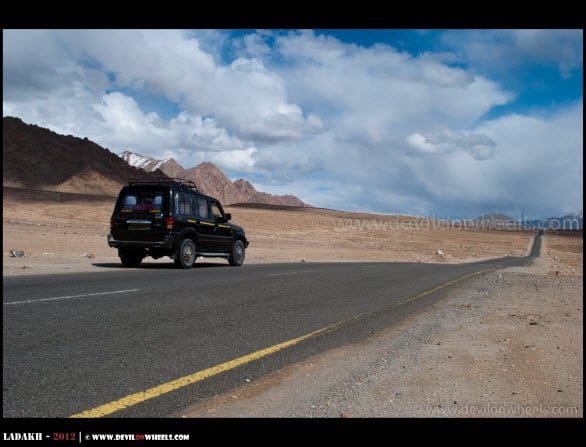 Driving or flying to Leh Ladakh?
