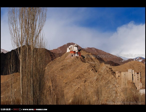 Leh Palace and Tsemo... A Distant View...