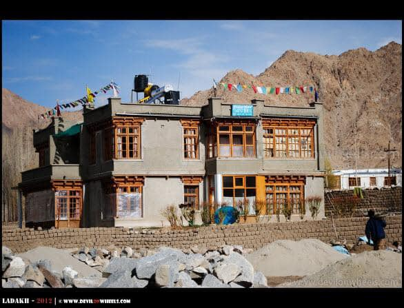 Our Guest House at Leh... Glacier View...