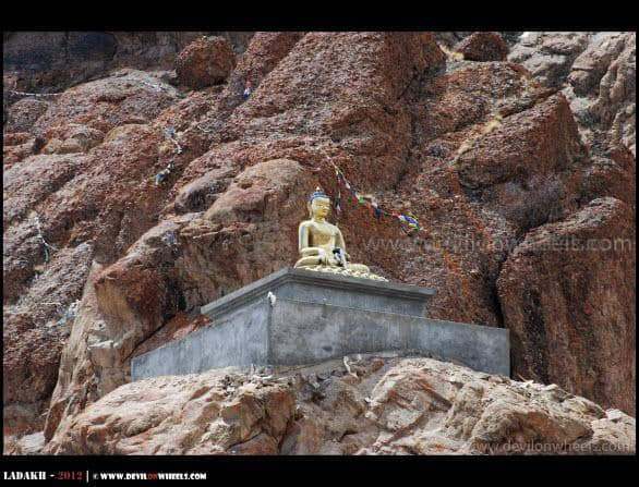 Lord Buddha at Hemis Monastery...