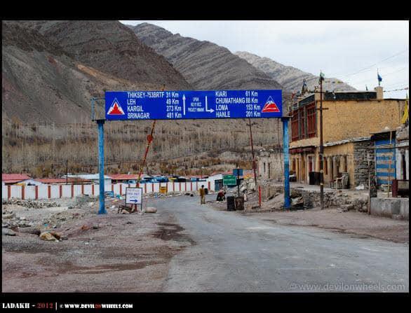 Upshi Village... Some information...