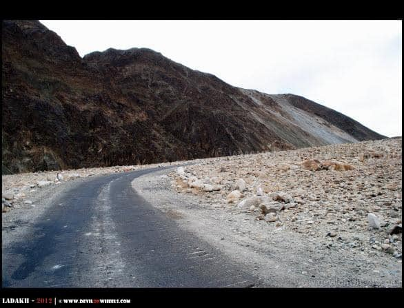 Ahh.. The roads are pretty fine to Chumathang...