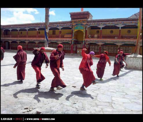 Preparations for Hemis Festival...