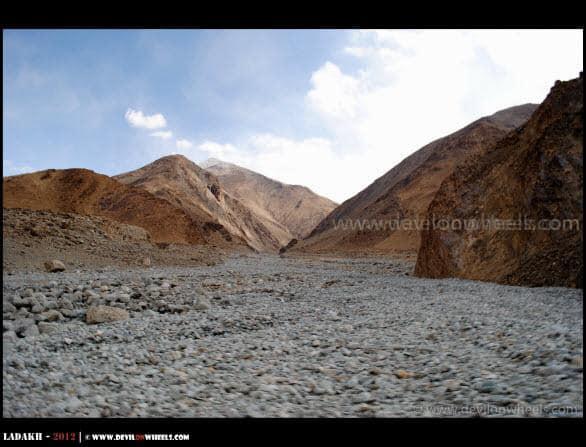 As Barren As It Gets... Chumathang - Mahe