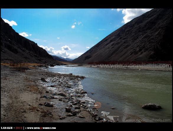 Indus River at Mahe