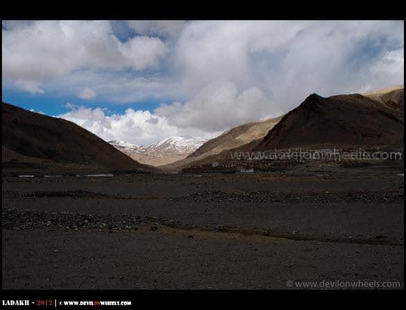Sumdo Village... Diversion to Manali - Leh Starts Here...