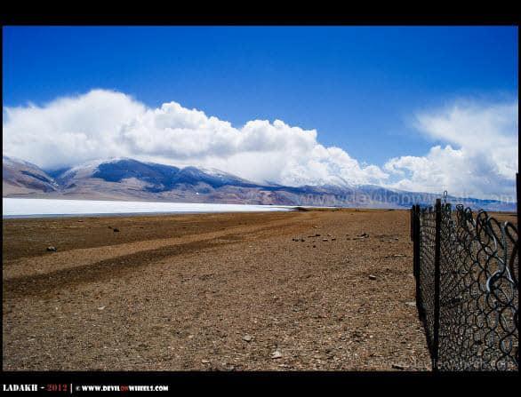 Reserved Wetland... Tso Moriri Lake...