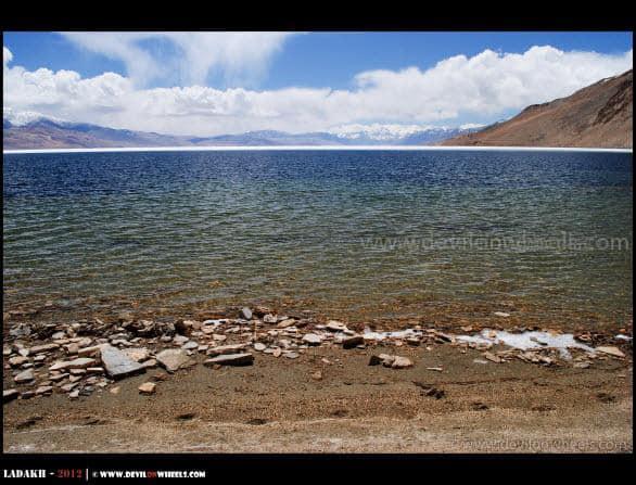 Colors of Tso Moriri Lake
