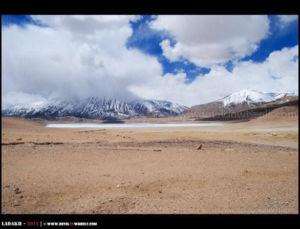 Beautiful... The Frozen Kiagar Tso