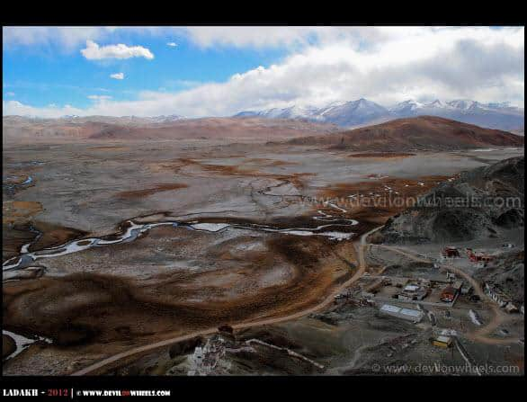 Hanle Village... An Aerial View...