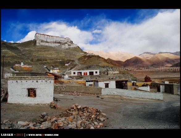 Beautiful Colors of Hanle Monastery