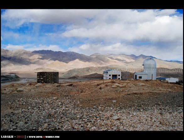 Hanle Observatory at 4500 Mtrs... Highest in the World...