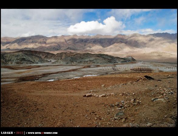 Hanle Village... Another Aerial View...