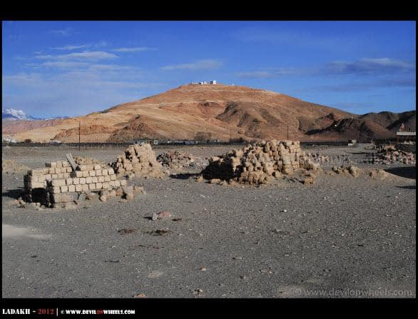 A Distant View of Hanle Observatory