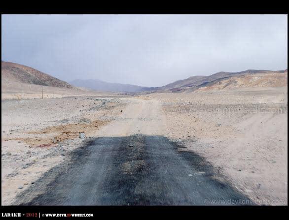 And the Road Ends at Tsaga Village