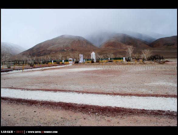 Rezang War Memorial near Chusul Valley