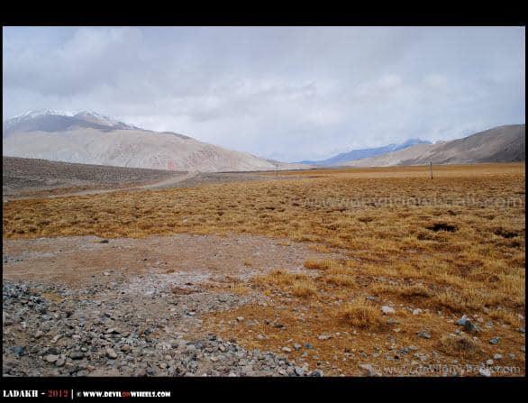 Remoteness at its best near Chusul