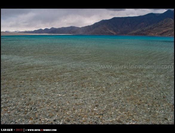 Blue Hues of Pangong Tso...