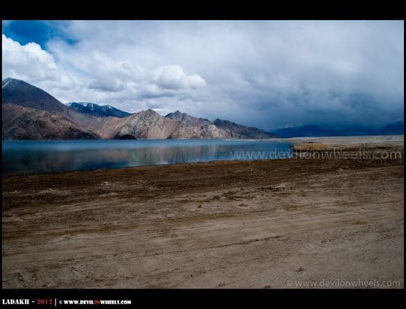 Remote, Peaceful and Lovely Pangong Tso
