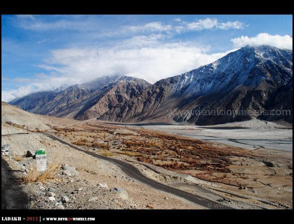 Adventures of Shyok Village Route - Nubra Valley to Pangong Tso
