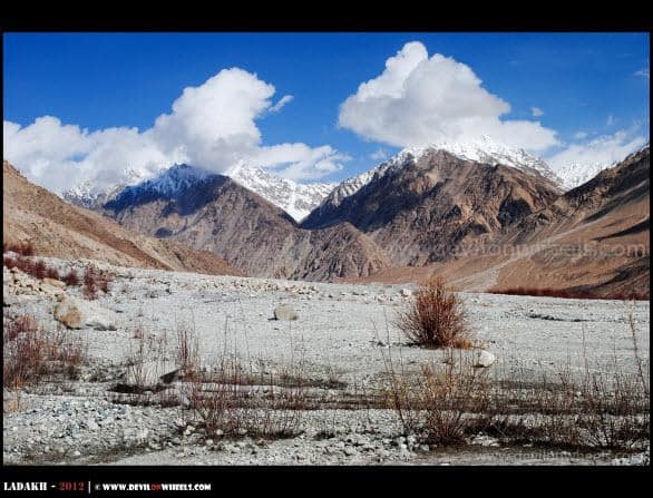 Painted Symmetrically Somewhere in Nubra Valley