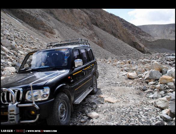 The Roads on Shyok Village Route