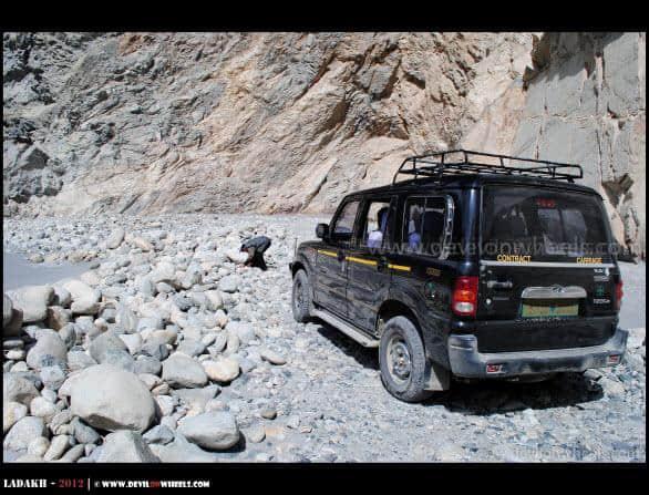 Roads on Shyok Village Route