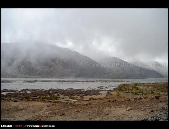 Dark Clouds all Over Nubra Valley