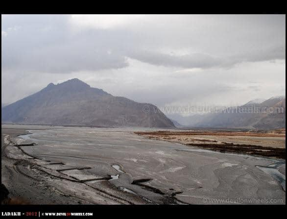 As Dark Clouds Surround Nubra Valley