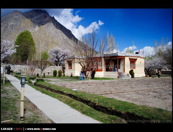 Snow Leopard Guest House at Hunder Village in Nubra Valley