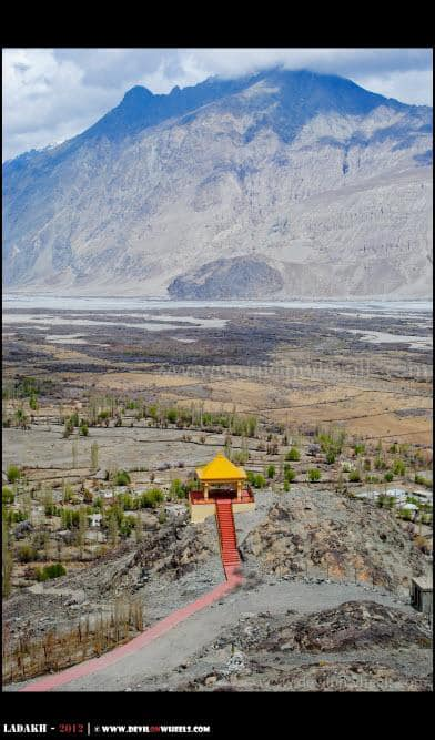 Deskit Village in Nubra Valley