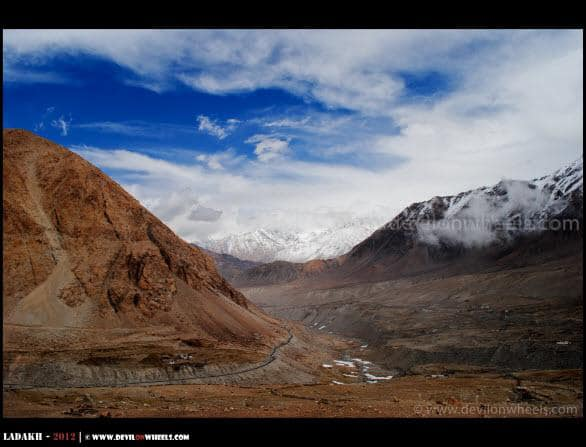 The Beautiful Landscape of Nubra Valley
