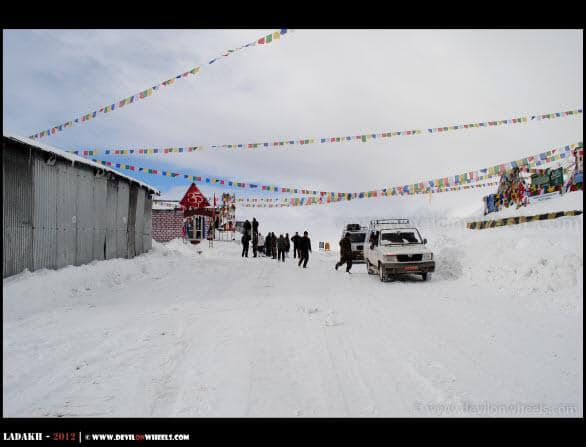 Buried Under Snow - Khardung La Pass