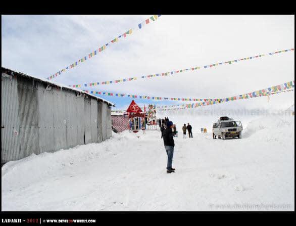 Buried Under Snow - Khardung La Pass