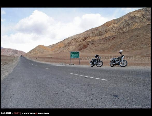 Magnetic Hill in Ladakh