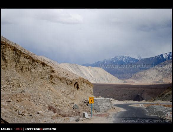 Srinagar - Leh Highway as NH-1D