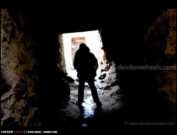 Secret Passages of Tsemo Castle in Leh