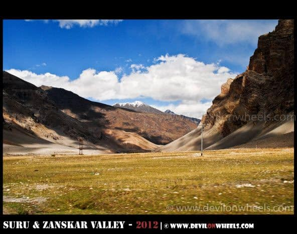 Lovely Colors of Drass Valley Unfolds on Srinagar - Kargil Highway