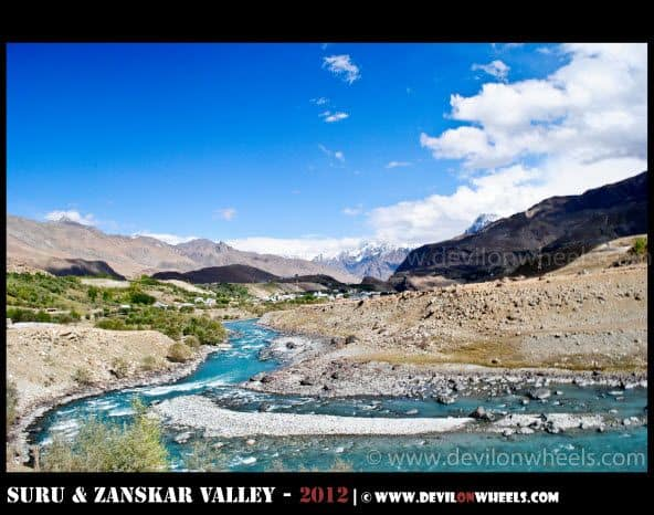 A Beautiful Day in Drass on Srinagar - Kargil Highway