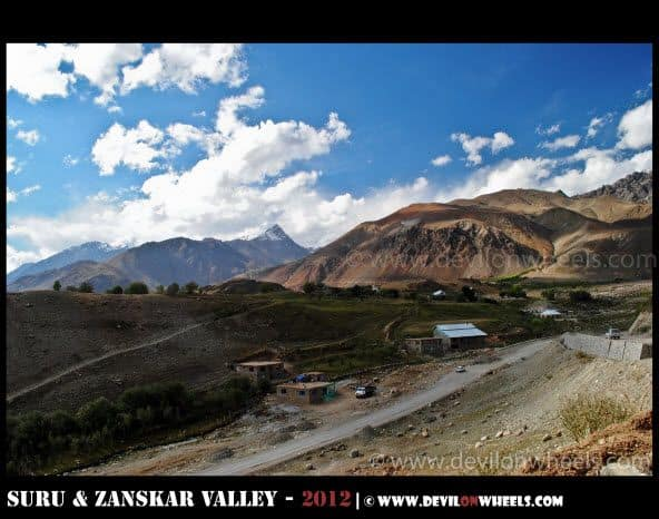 Tiger Hill and Batra Top on Srinagar - Kargil Highway