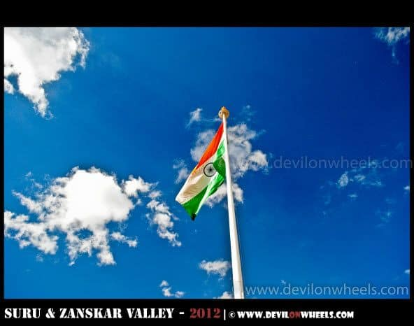 Vijay Path - Kargil War Memorial on Srinagar - Kargil Highway