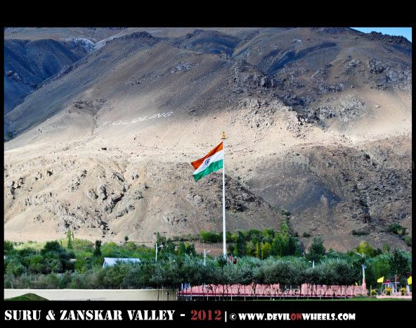 Tololing Hill on Srinagar - Kargil Highway
