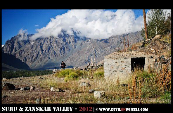 Beautiful views in Suru Valley