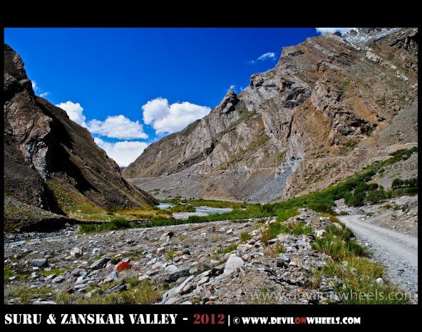 A Lovely Landscape in Suru Valley