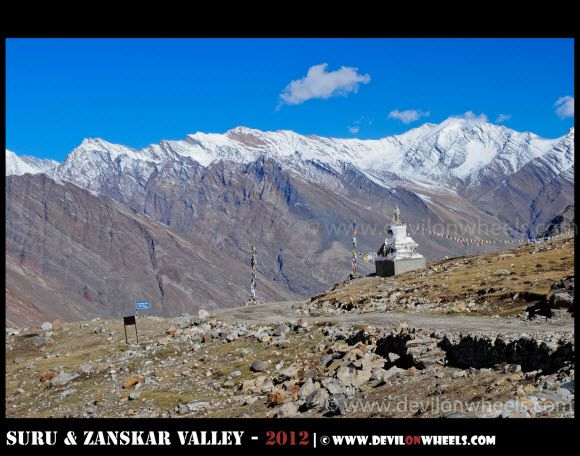 Penzi La Pass on Kargil - Padum Road