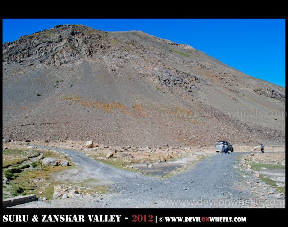 Parted Ways towards Zongkhul Monastery in Zanskar Valley