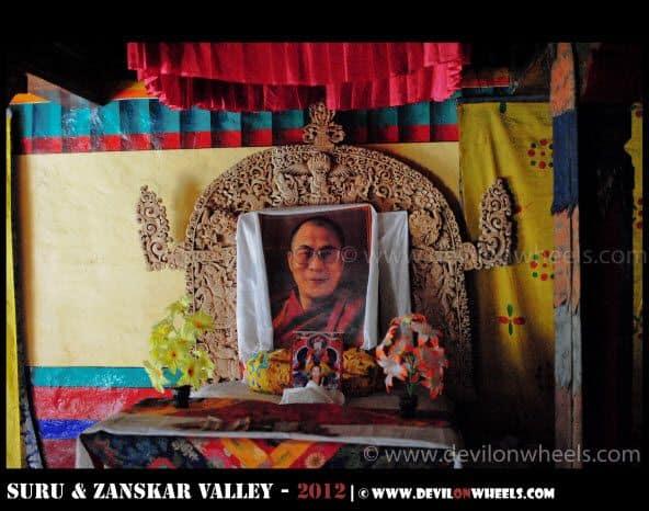 Zongkhul Monastery in Zanskar Valley