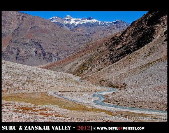 Beautiful Views of Zanskar Valley